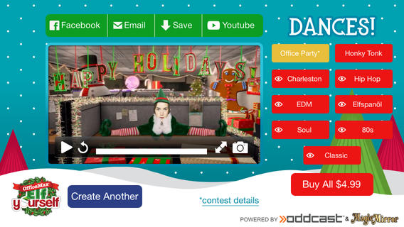 Elfyourself by officemax app review a fun way to animate - Office max elf yourself free download ...