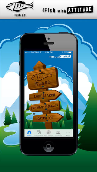 Ifish bc app review over 3 500 fishing spots apppicker for Fishing spot app