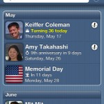 Cool iPhone Apps for Remembering Birthdays