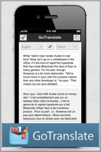 GoTranslate for Google Translate