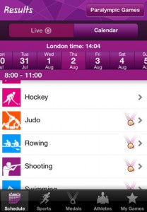 London 2012: Official Results App for the Olympic and Paralympic Games App Review