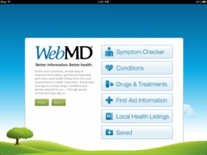 WebMD for iPad App Review