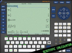 CAS Calc P11 app review