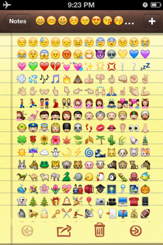 Emoji & Unicode Icons app review