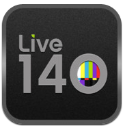 Live 140 app review: get tweet streams for your TV shows