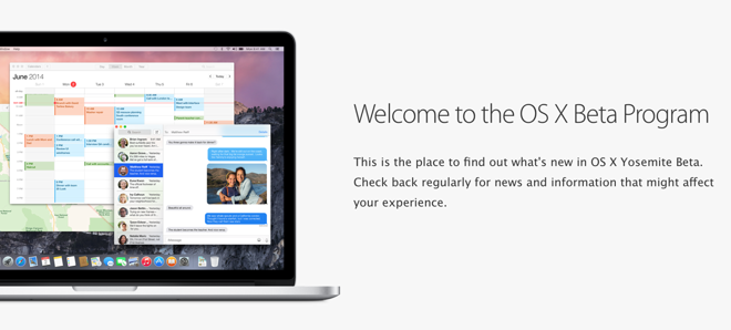 OS X Yosemite public beta 2 and iTunes 12 beta released