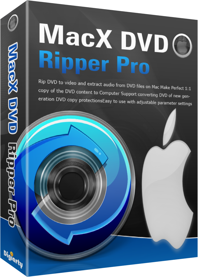 Free Giveaway of MacX DVD Ripper Pro