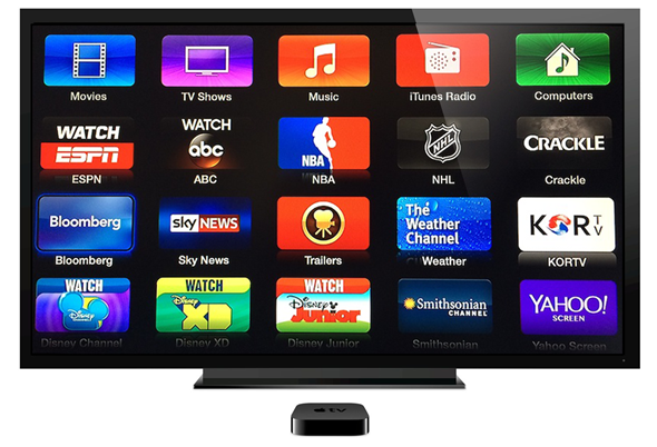 Apple TV adds more channels