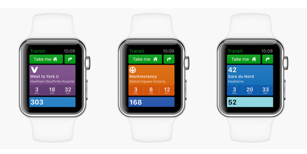 Transit App is one of the first Canadian-developed apps for Apple Watch