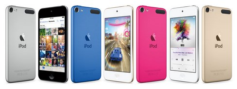 iPod touch gets updated