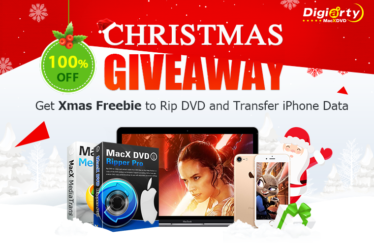 Christmas Giveaway: Rip Nearly Any DVD to Any Format with Best DVD Ripper for Mac