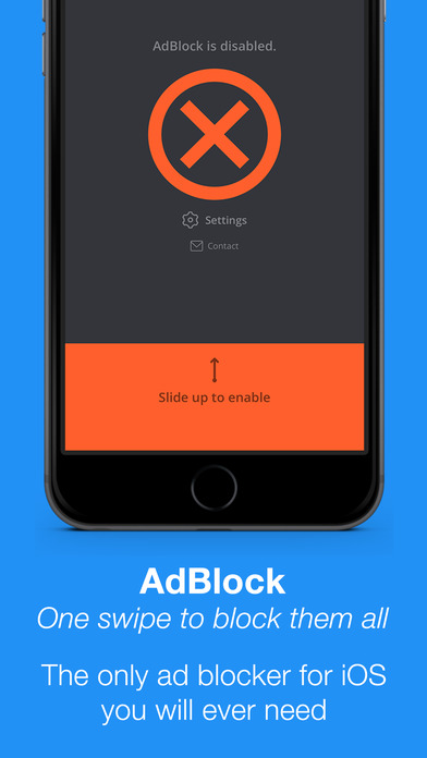 AdBlock for iOS: One swipe away from an Ad-free mobile experience