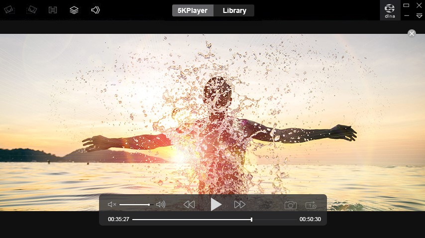 5KPlayer—Best Player to Play, Download, Stream and Cut 4K