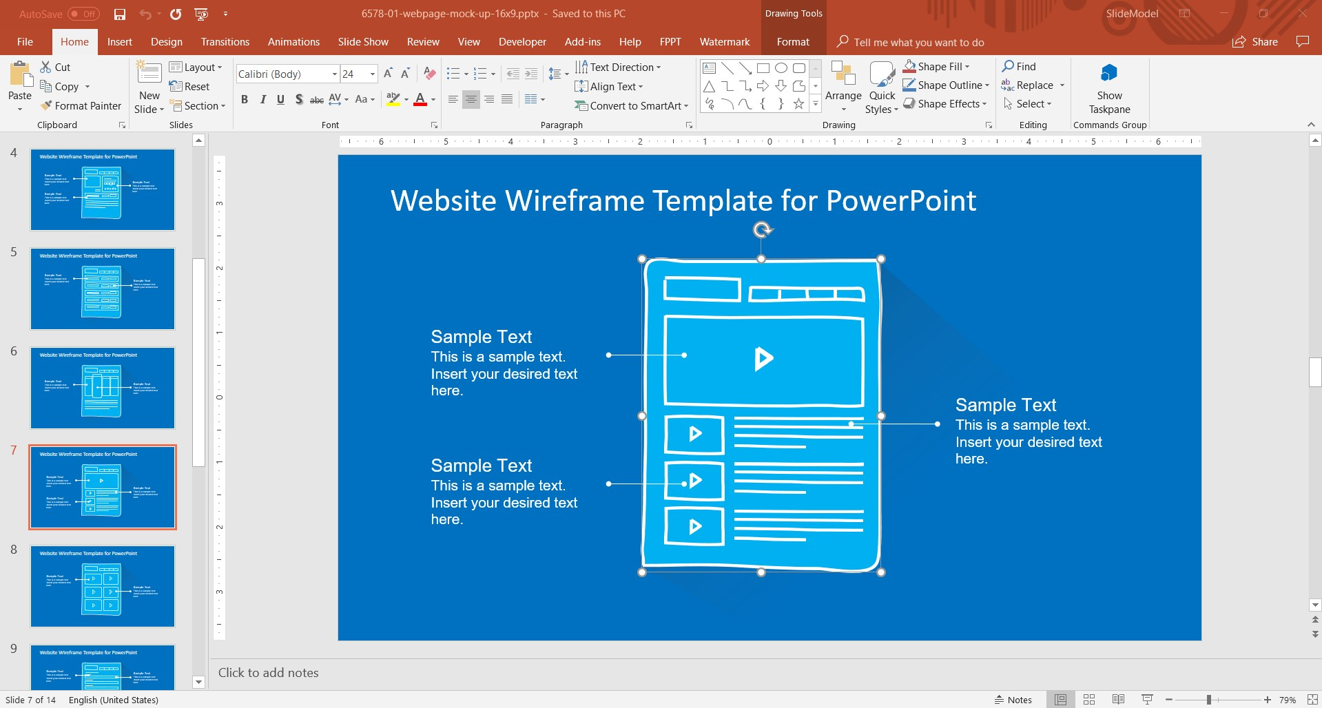 Slidemodel Com Effective Ux Prototyping With Powerpoint Templates