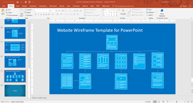 SlideModel com: Effective UX Prototyping with PowerPoint
