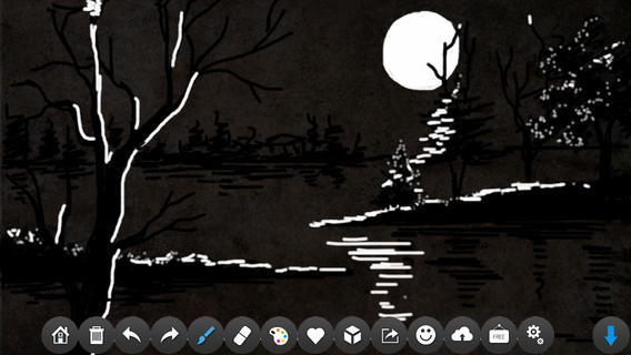 Drawing Desk app review: transform your device into a doodle