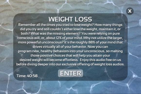 Weight Loss Hypnosis by Mindifi app review: get rid of the