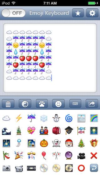 Emoji Keyboard - Use Color Emojis Emoticons Smileys to ... Symbols Copy And Paste App
