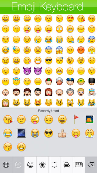 Emoji Keyboard iOS 7 Edition app review: a better way to