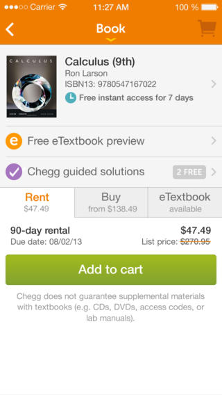 chegg homework help review