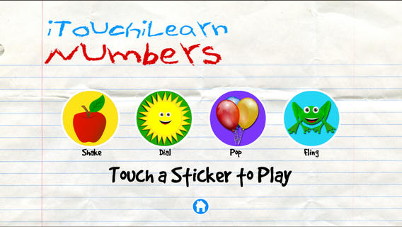 iTouchiLearn Numbers for Preschool Kids Free screenshot 1
