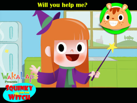 Waka: Squinky & the Witch screenshot