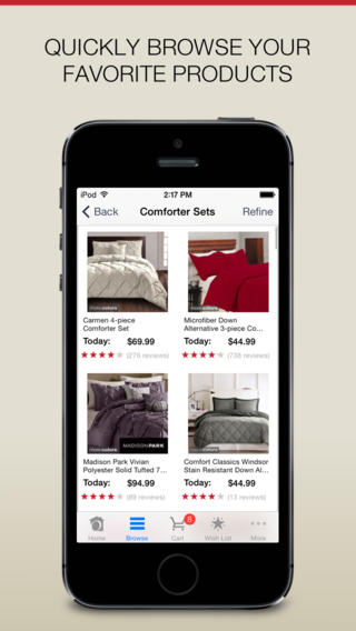 Overstock.com app review: search, browse, and make purchases on Overstock.com screenshot 2