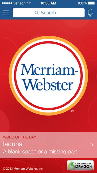 Merriam-Webster Dictionary & Thesaurus screenshot 3