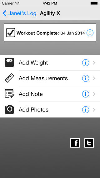 Log For 90 Day 30 Min Workout app review - appPicker