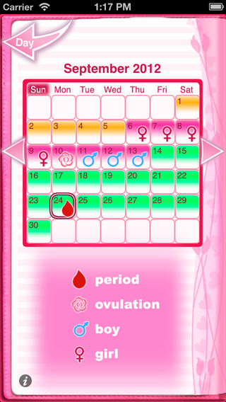 Maybe Baby 2013 App Review Find Out Exactly When You Can Get Pregnant Apppicker
