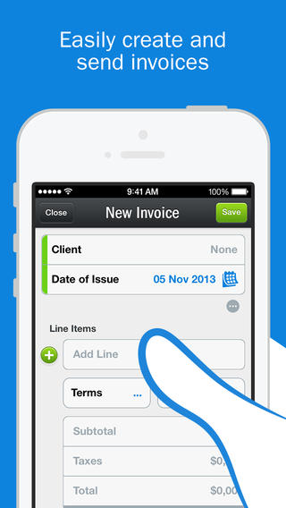FreshBooks Cloud Accounting screenshot 1