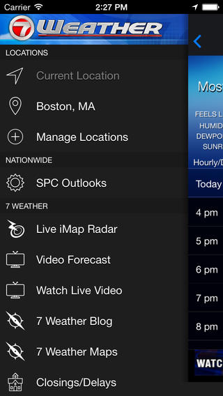 WHDH - 7 Weather Boston screenshot 2