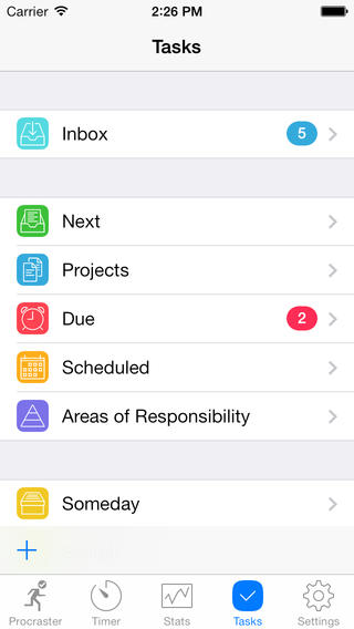 Procraster - Tasks, Stats & Self-Help screenshot 1