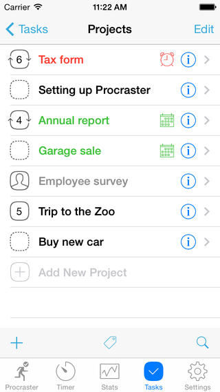 Procraster - Tasks, Stats & Self-Help screenshot 2