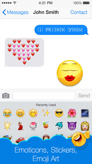 Emoji Emoticons Art app review: express yourself in all kinds of ...