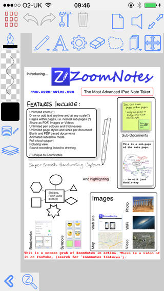 ZoomNotes screenshots 1