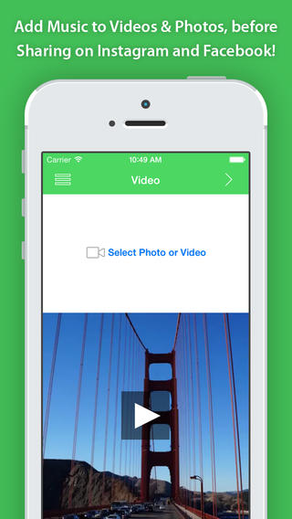 VideoSound app review: add music to Instagram and Facebook videos