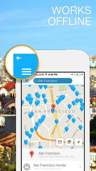 WiFi Map Pro great for offline use