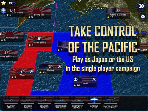 Battle Fleet 2: WW2 in the Pacific screenshot