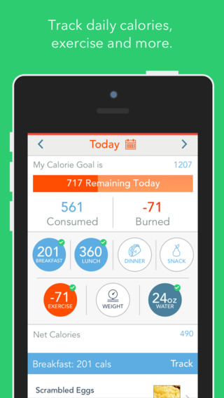 MyPlate Calorie Tracker app review: by LIVESTRONG.COM ...
