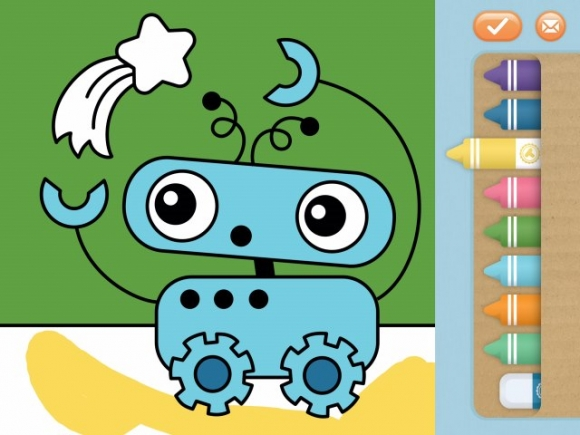Toonia Colorbook app review: color inside the lines - appPicker