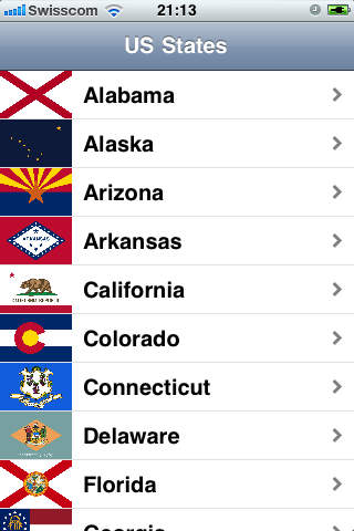 50 States app review - appPicker on