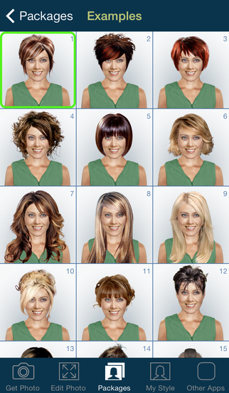 Wondrous Hairstyle Lite App Review Check Out A New Look Apppicker Short Hairstyles Gunalazisus