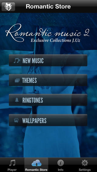 Downloadable themes, ringtones and wallpapers