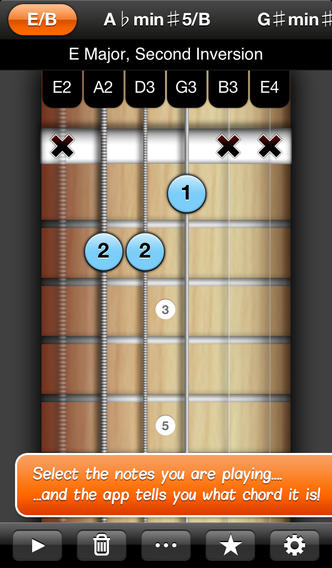 Reverse Chord Finder Pro app review - appPicker