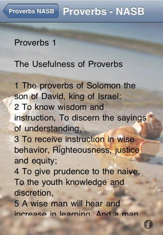 Tells you why you should read proverbs!