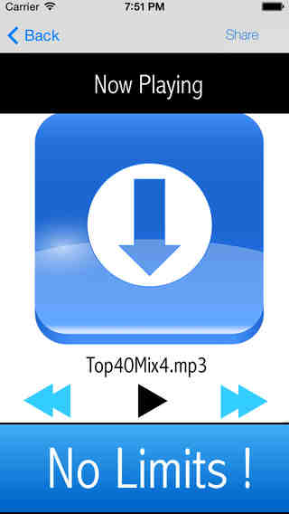 Download and Play music from your Dropbox library app review - appPicker