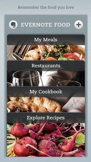 Evernote for foodies