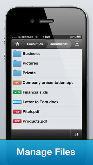 File Manager Pro App review: productive and professional