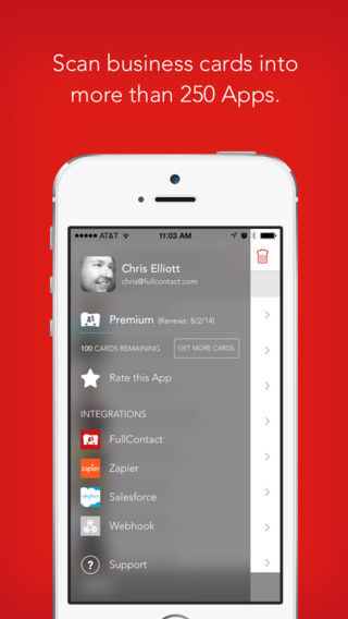 Fullcontact card reader app review apppicker supports 250 apps reheart Image collections